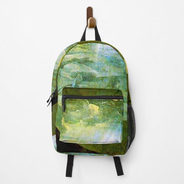Creation Exterior World Delights Bosch Renaissance Art Backpack