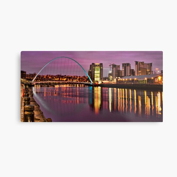 Early Morning in Newcastle Metal Print