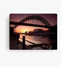 Tyne Bridge At Sunrise Canvas Print