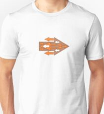 Arrow Abstract Coming & Going T-Shirt