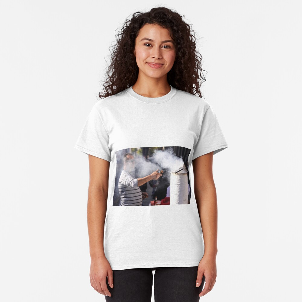 Flicking Chestnuts Classic T-Shirt