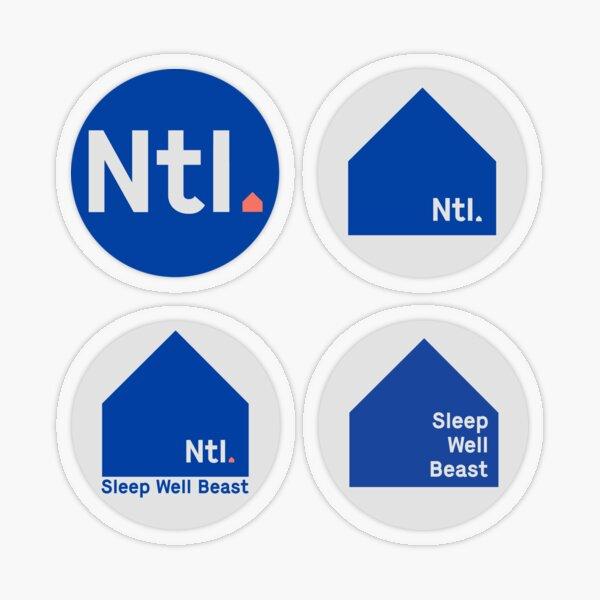 The National Transparent Sticker