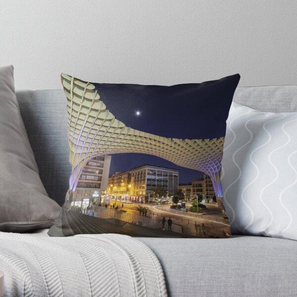 Seville at Night Throw Pillow
