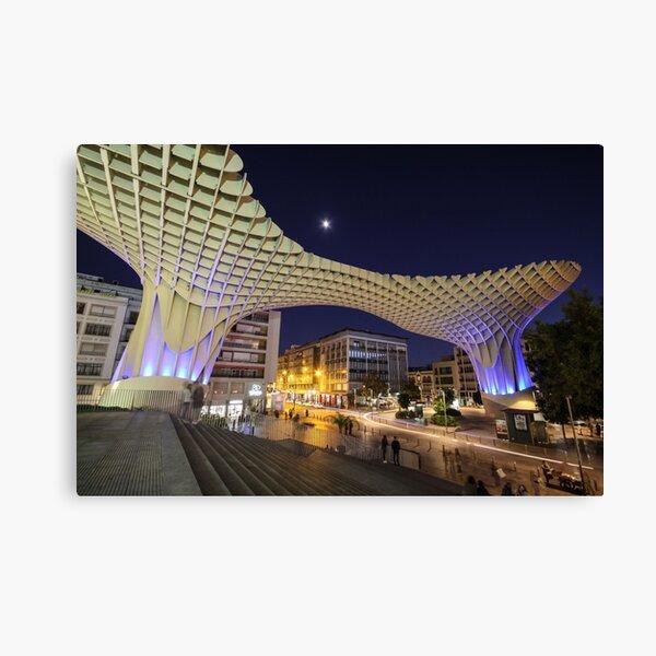 Seville at Night Canvas Print