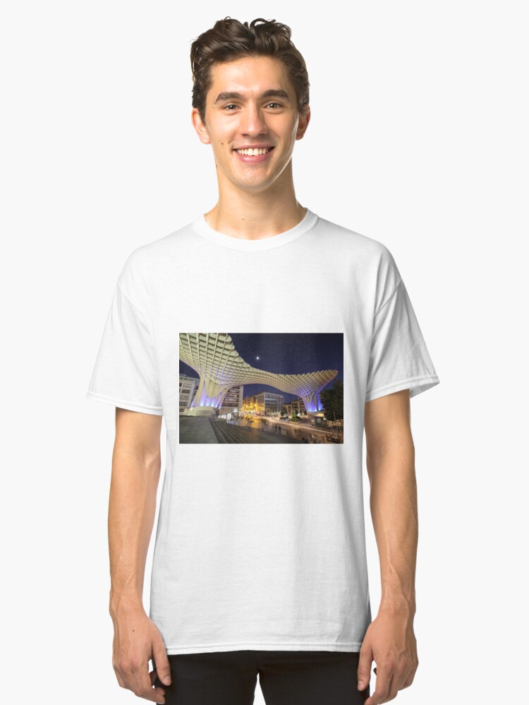 Alternate view of Seville at Night Classic T-Shirt