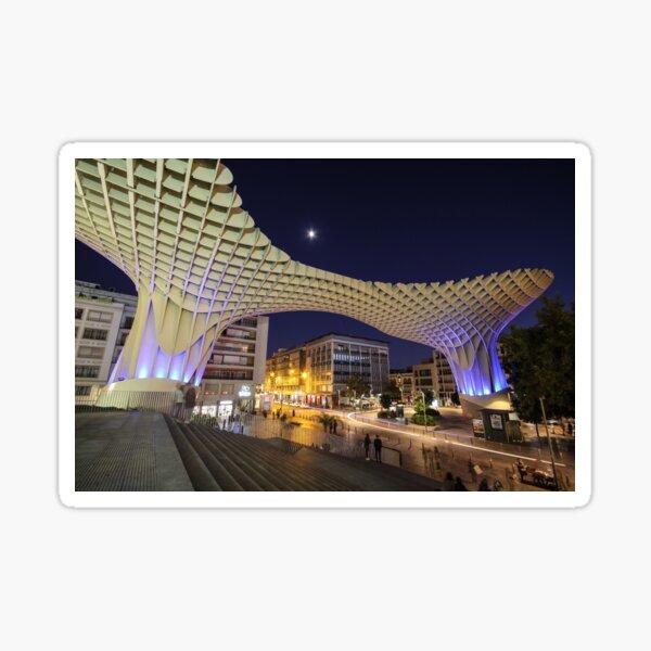 Seville at Night Sticker