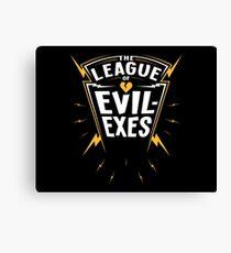 Scott Pilgrim - The League of Evil-Exes Canvas Print
