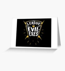 Scott Pilgrim - The League of Evil-Exes Greeting Card