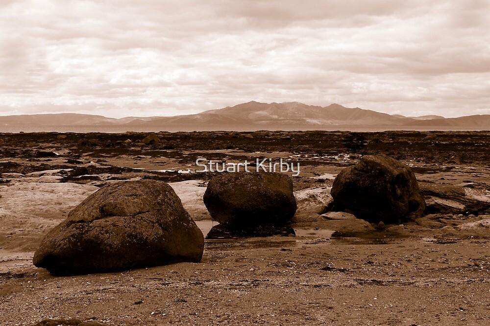 Seamill To Isle Of Arran Ayrshire Scotland by Stuart Kirby