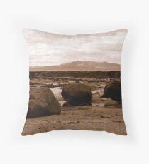 Seamill To Isle Of Arran Ayrshire Scotland Throw Pillow