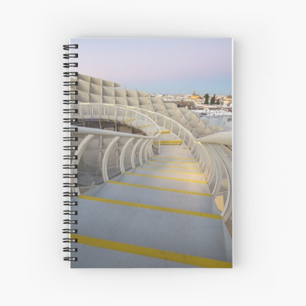 On Top of the Mushroom Spiral Notebook