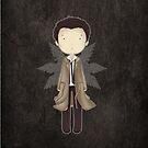 Supernatural cute CASTIEL by koroa