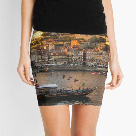Sunset at Porto Mini Skirt