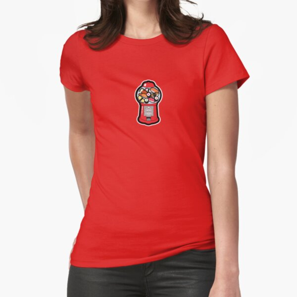 Gumball Sushi Fitted T-Shirt