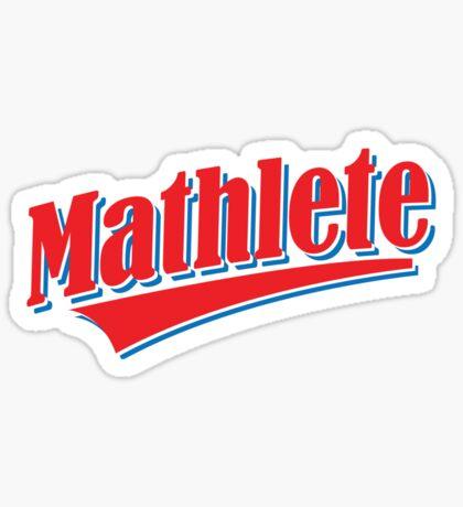 Mathlete Sticker