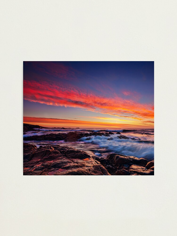 Alternate view of South West Sunset Photographic Print