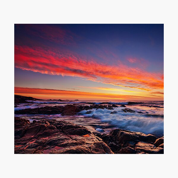 South West Sunset Photographic Print