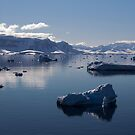 Reflecting on Antarctica 060 by Karl David Hill