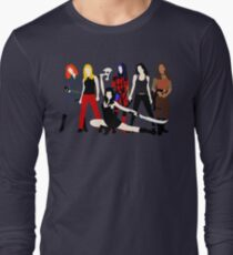Women of the Whedonverse   Long Sleeve T-Shirt