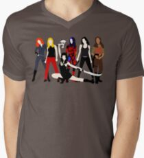 Women of the Whedonverse   Men's V-Neck T-Shirt