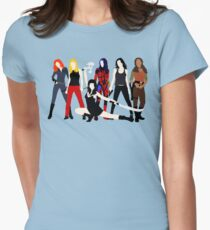 Women of the Whedonverse   Women's Fitted T-Shirt