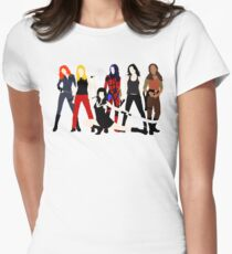 Women of the Whedonverse   Womens Fitted T-Shirt