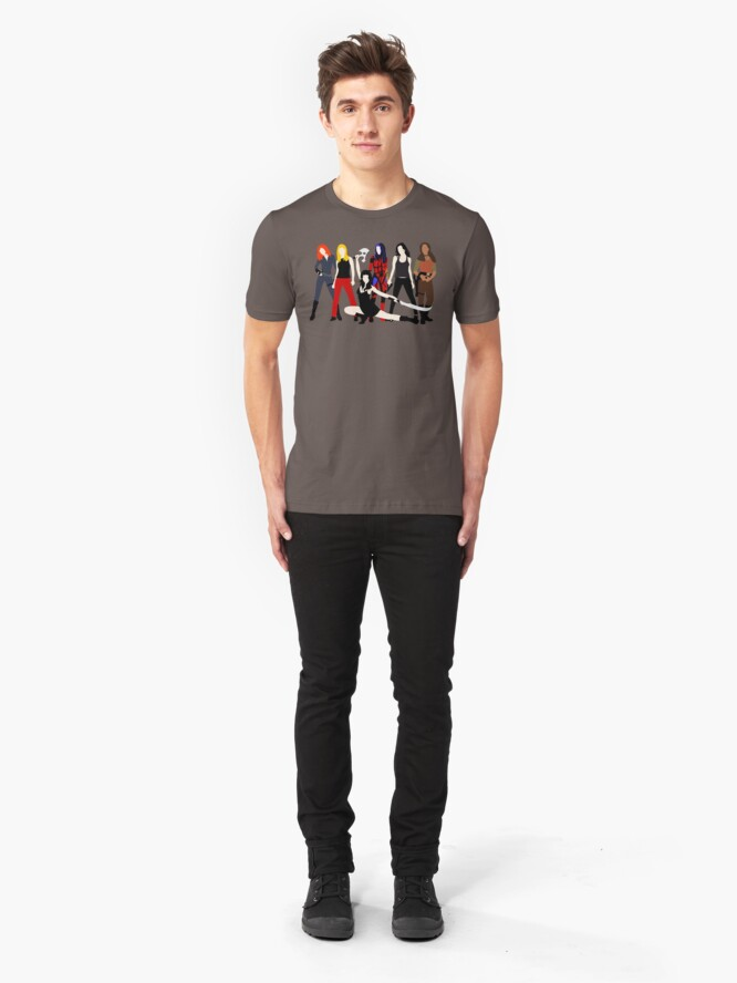 Alternate view of Women of the Whedonverse   Slim Fit T-Shirt