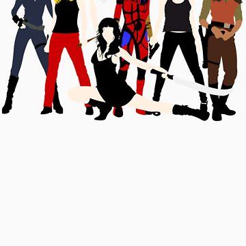 Women of the Whedonverse   von TomTrager
