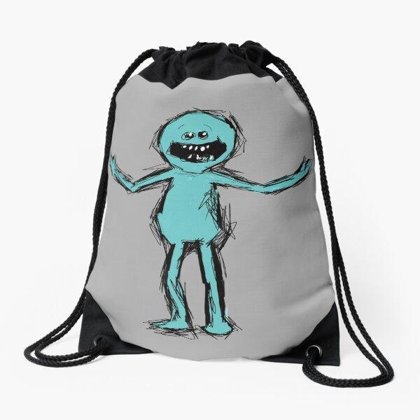 Mr Meeseeks Drawstring Bag