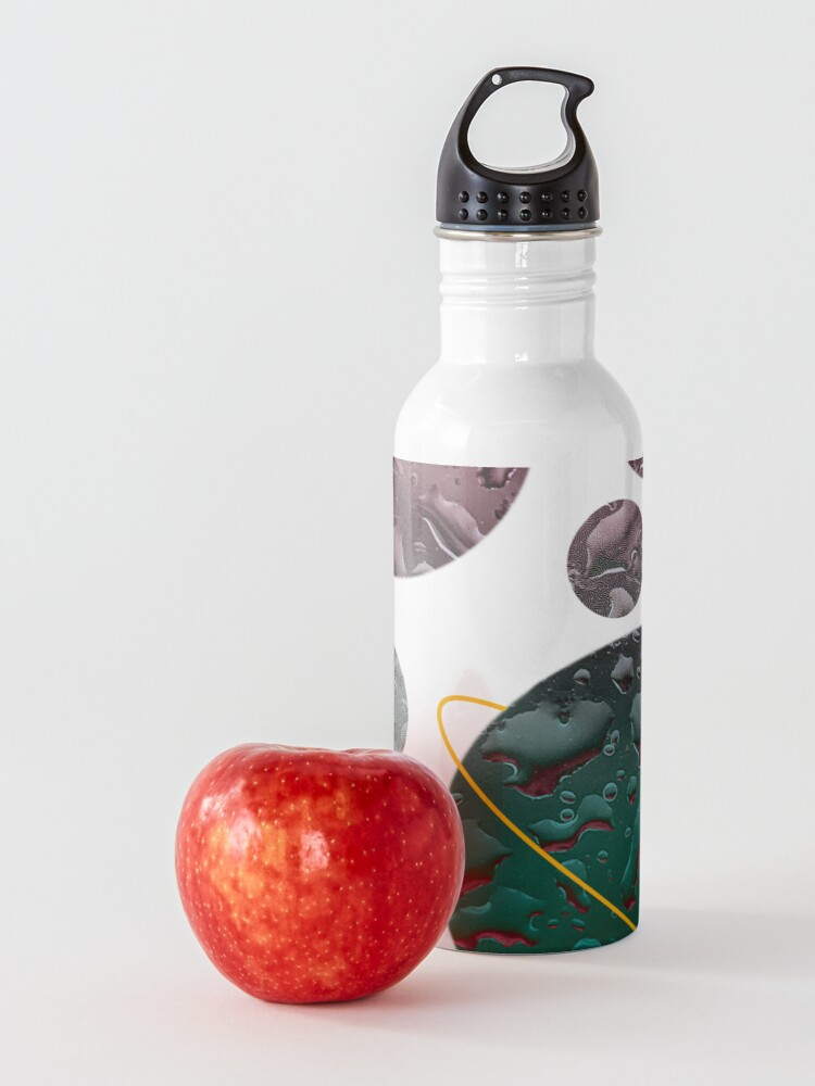 Alternate view of planets floating  Water Bottle