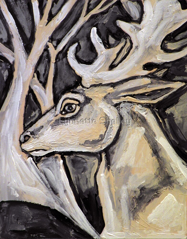 White Stag by Lynnette Shelley