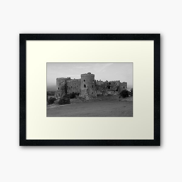 Carew Castle Framed Art Print