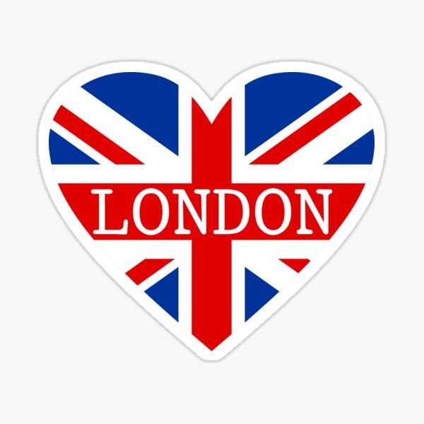 London sticker Sticker