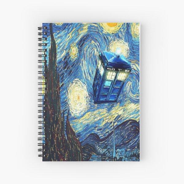Van Gogh Spiral Notebook