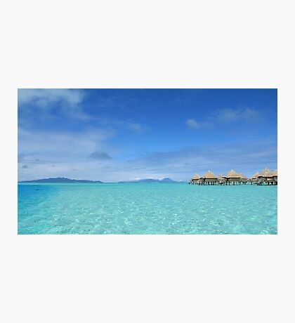 Blue Paradise Photographic Print