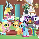 Fluttershys Christmas Party by Fluttershy808