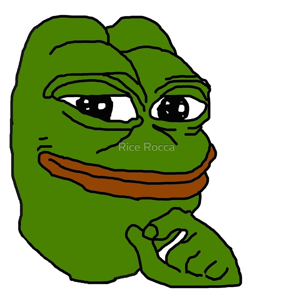 Pepe The Frog Meme by Rice Rocca
