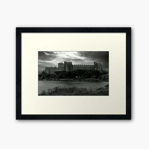 Pembroke Castle Framed Art Print