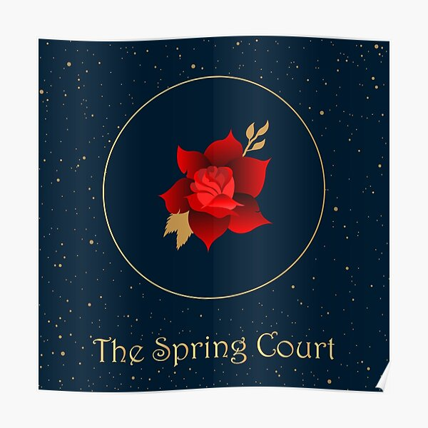 The Spring Court Poster