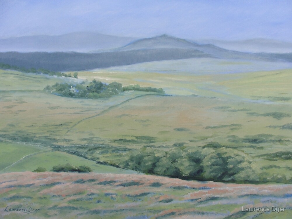 Approaching Postbridge - Lawrence Dyer oil painting by Lawrence Dyer
