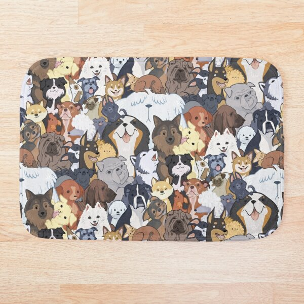 Pupper Party Bath Mat