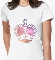 Rainbow Crown Sticker T-Shirt