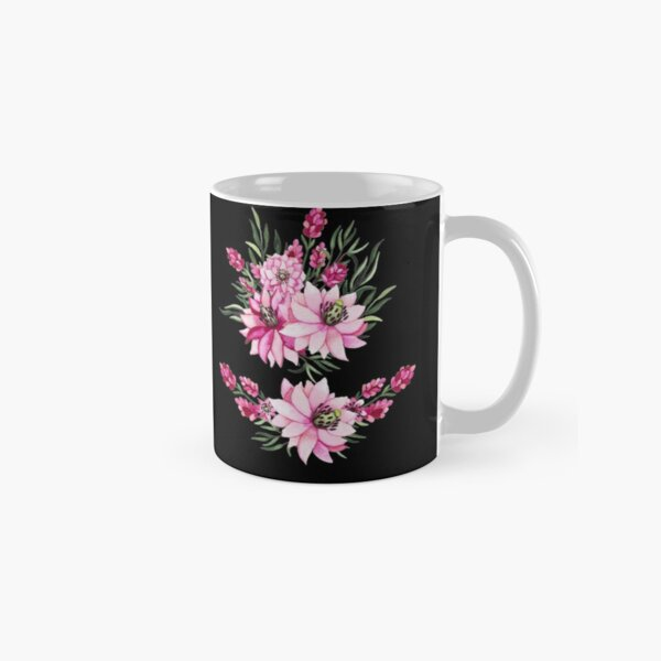 botanical colorful countryside wildflowers painting painted pattern Classic Mug
