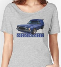 HZ Holden Sandman Panel Van - Windsor Blue Women's Relaxed Fit T-Shirt