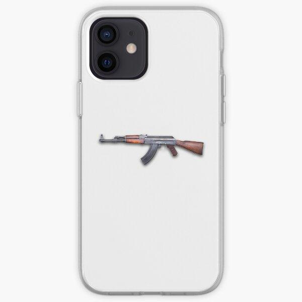 Kalashnikov assault rifle - Автомат Калашникова iPhone Soft Case