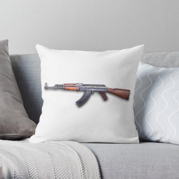 Kalashnikov assault rifle - Автомат Калашникова Throw Pillow