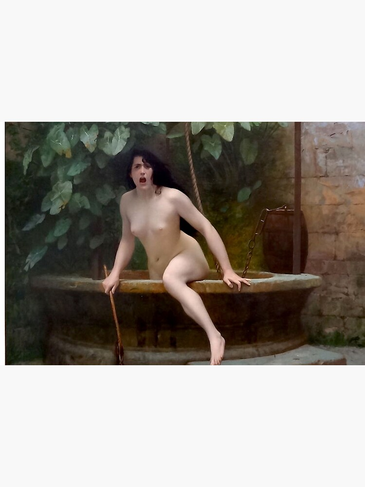 TRUTH COMING OUT OF HER WELL TO SHAME MANKIND - JEAN-LEON GEROME by arthistoryfever