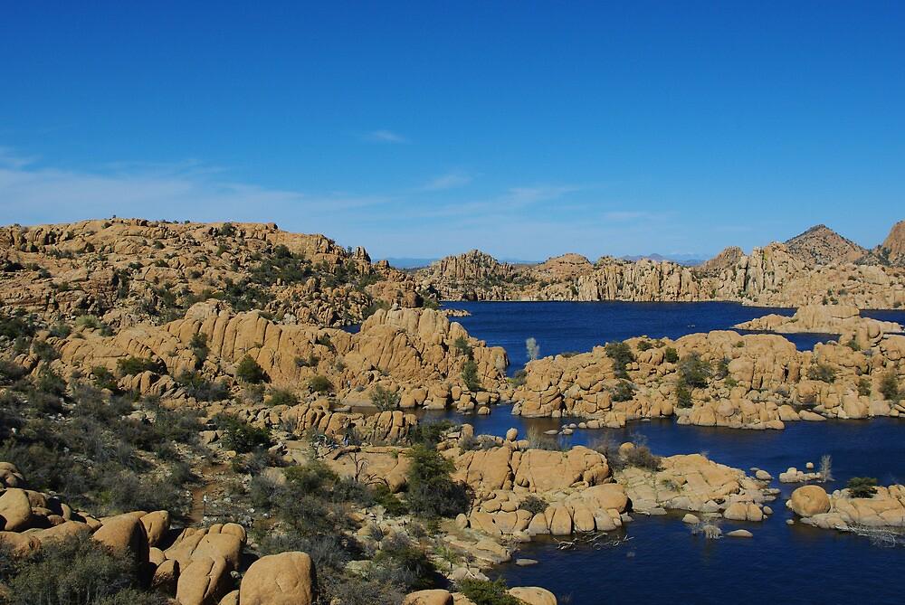 Watson Lake, Arizona by Claudio Del Luongo