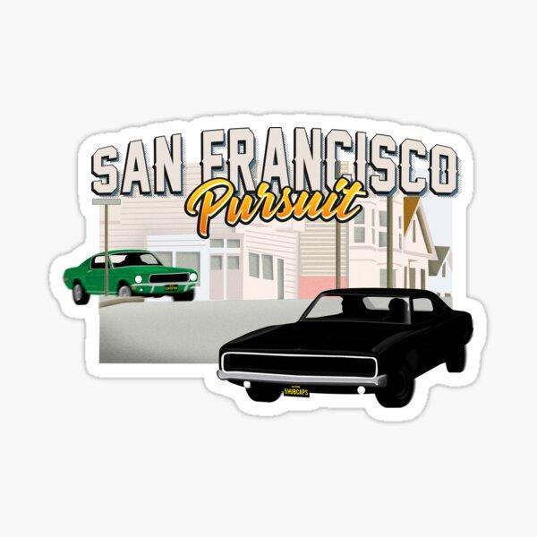 Poursuite de San Francisco Sticker