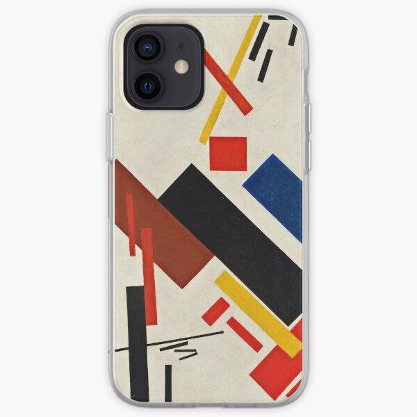 Kazimir Malevich - Stroyuschiysya Dom  iPhone Soft Case